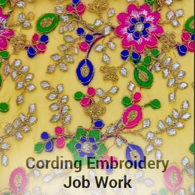 Cording Embroidery Job Work Khata Units Firms