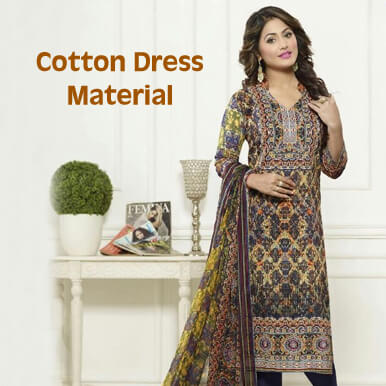 cotton dress material companies