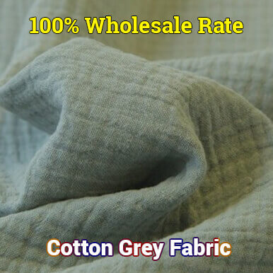 cotton grey fabric companies