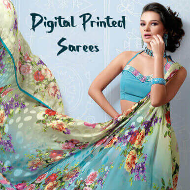 digital printed sarees   jaipur