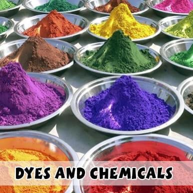 dyes and chemicals companies