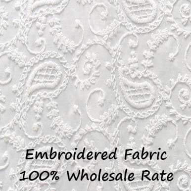 Embroidered Fabric