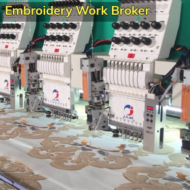 companies  embroidery work broker   coimbatore