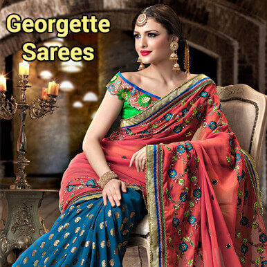georgette sarees companies