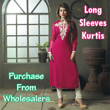 long sleeves kurtis   kanpur