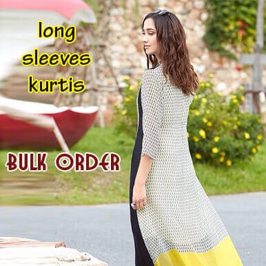 companies  long sleeves kurtis   kanpur