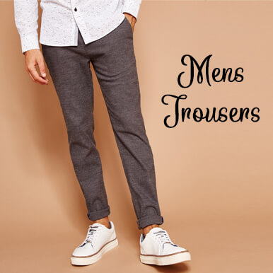 mens trousers companies