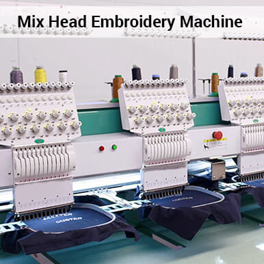 mix head embroidery machine companies
