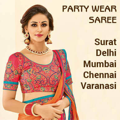 party wear sarees companies