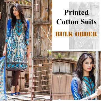 printed cotton suits companies