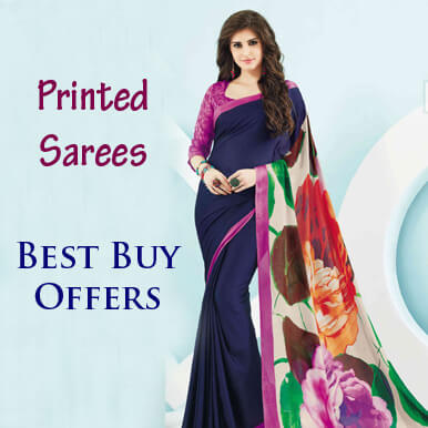 Printed sarees wholesale companies in India