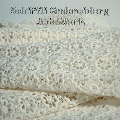 schiffli embroidery job work companies
