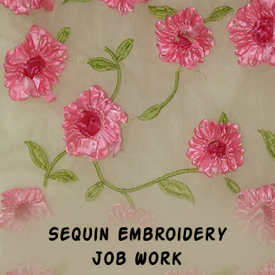 sequin embroidery job work companies
