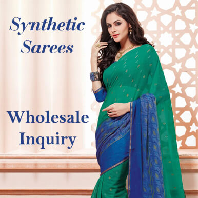 synthetic sarees companies