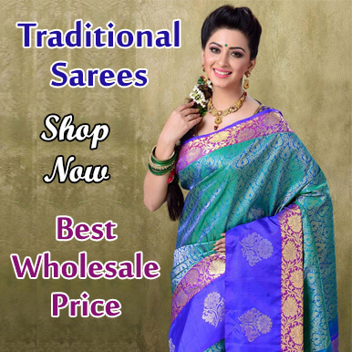 Traditional sarees wholesalers