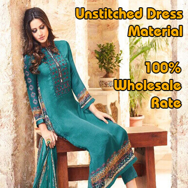 unstitched dress material companies