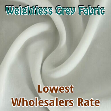 weightless grey fabric