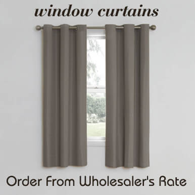 window curtains companies