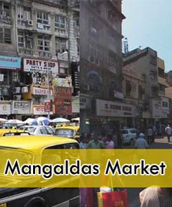 Mangaldas shopping Market Mumbai
