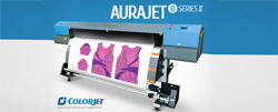 ColorJet India to launch dye sublimation textile printer Aurajet at Gartex 2017