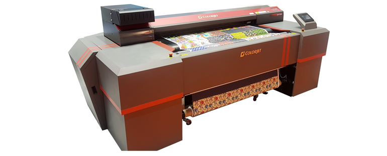 ColorJet to Display Japanese Technology Loaded Digital Textile Printer TXF at Heimtextil