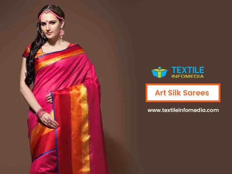 Art Silk Sarees Manufacturers Wholesalers Amp Exporters In
