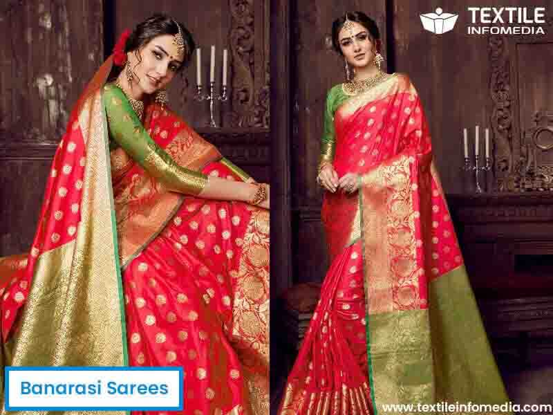banarasi sarees - Beautiful Traditional Wedding Dresses