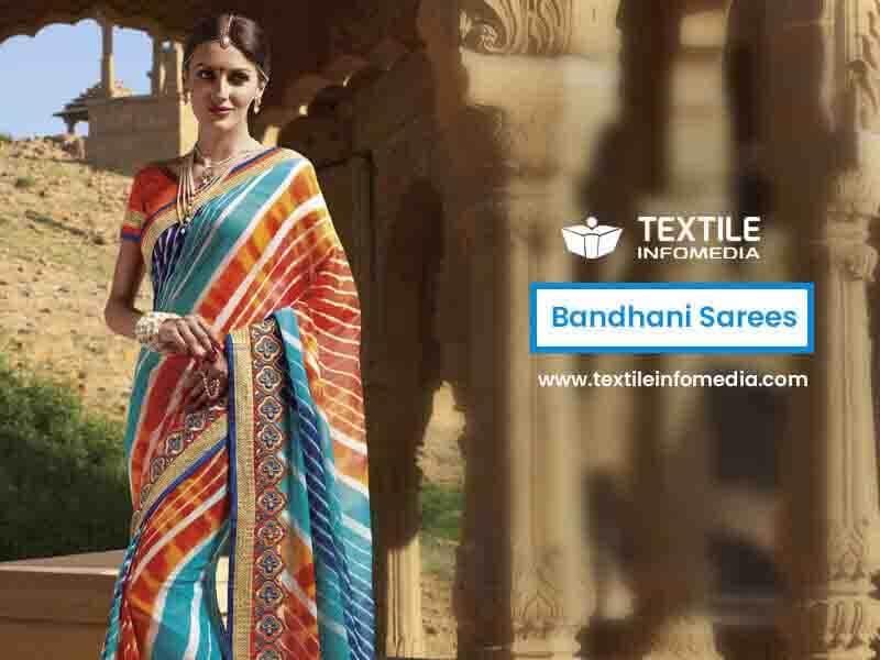 Bandhani Sarees Manufacturers Traders And Wholesaler