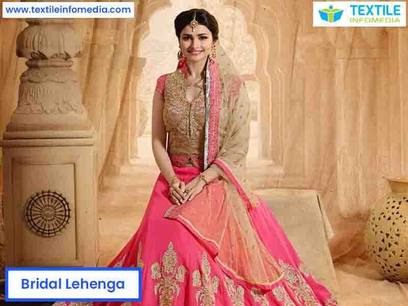 1c92131a2e Bridal Lehenga Manufacturers, suppliers & Exporters in Surat, Gujarat,  India - Best Bridal Lehengas