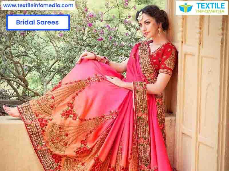 b8269dd045 Bridal sarees Manufacturers & Traders in Ahmedabad, Gujarat, India-Bridal  sarees silk, Pattu