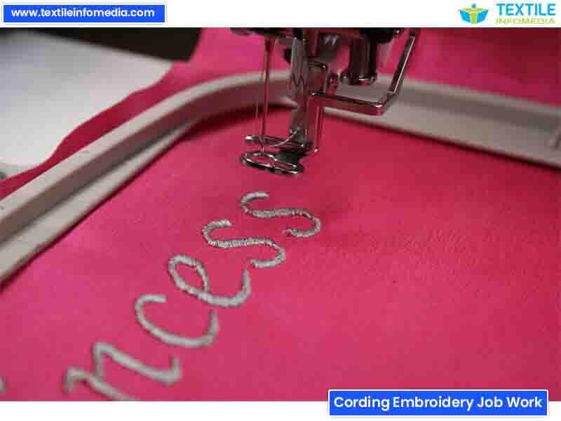 Cording Embroidery Job Work Khata Units Firms In Surat Gujarat
