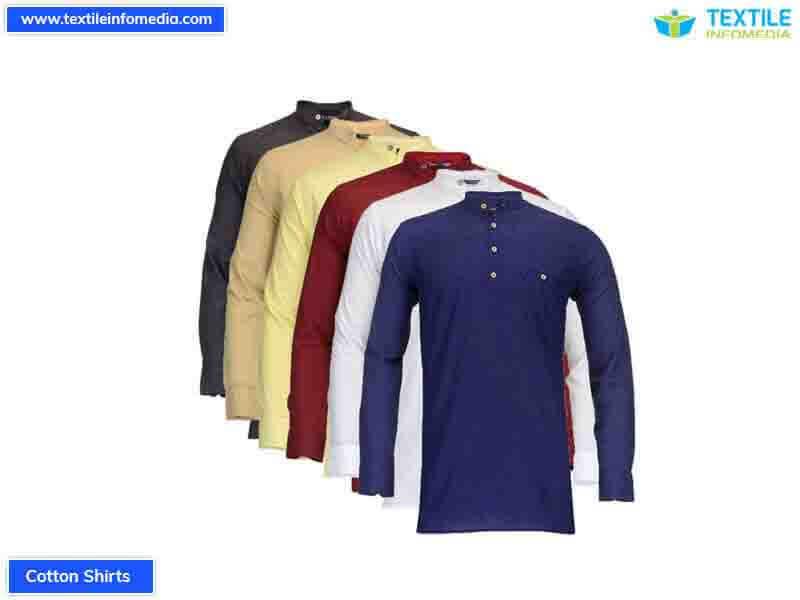 bf8bbd8727b Cotton Shirts Manufacturers