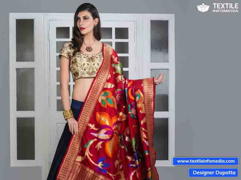 Designer Dupatta Manufacturers Exporters Wholealers In Jaipur Rajasthan India