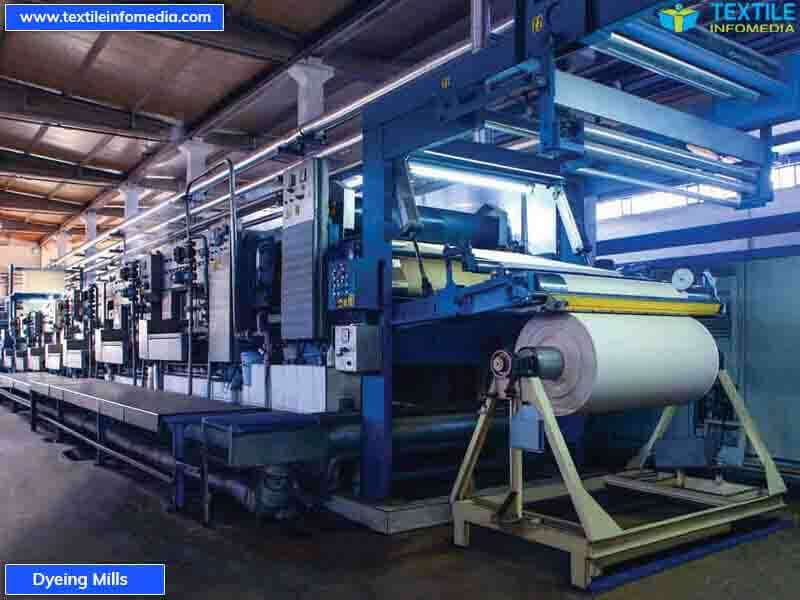 Dyeing mills - Dyeing Mill Units