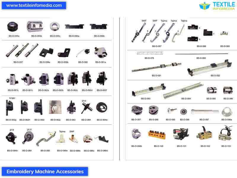 embroidery machine accessories   ludhiana