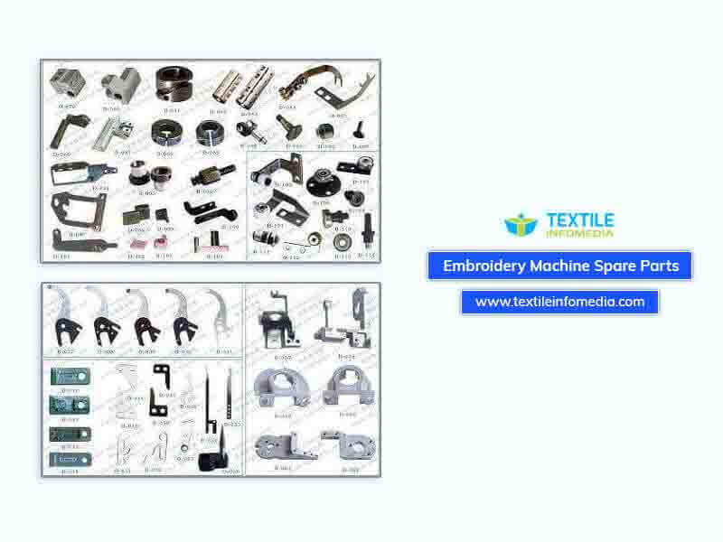Embroidery Machine Spare Parts Manufacturing Companies