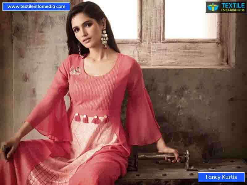 Fancy Kurtis Manufacturers Suppliers In Surat Gujarat India Fancy Kurtis Direct From Factory