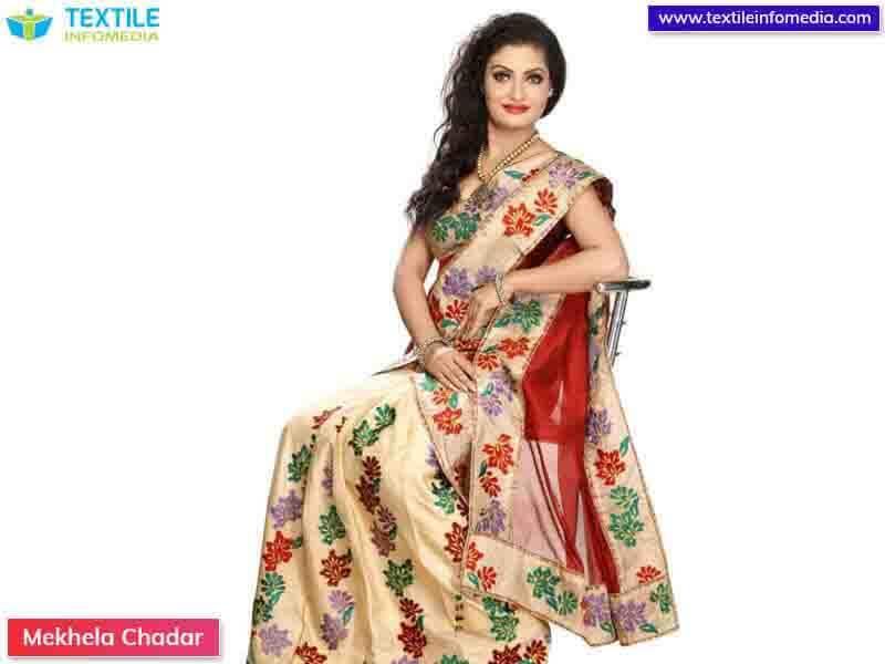 Mekhela Chadar Embroidery Designs