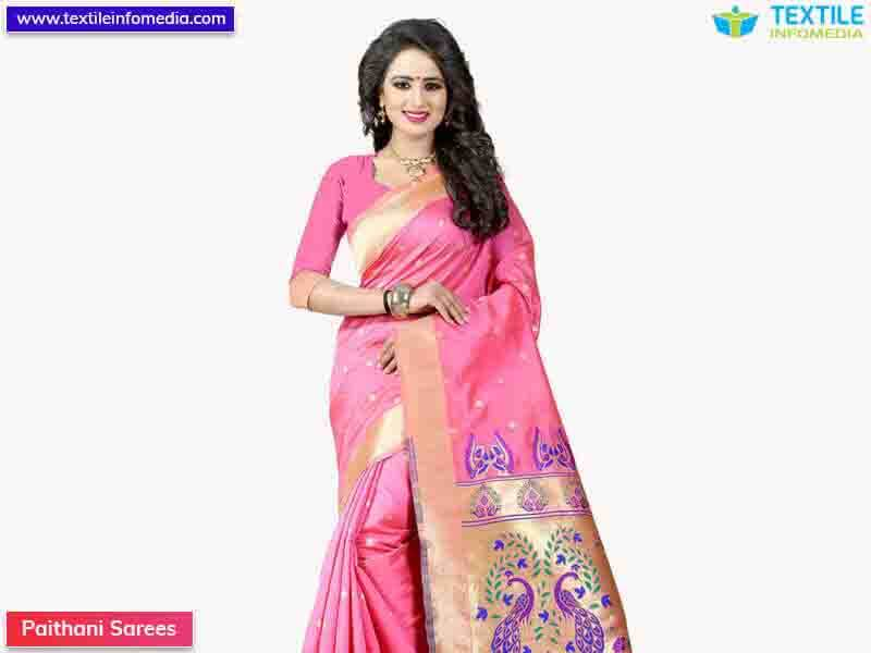 Paithani Sarees Manufacturers, suppliers & wholesalers