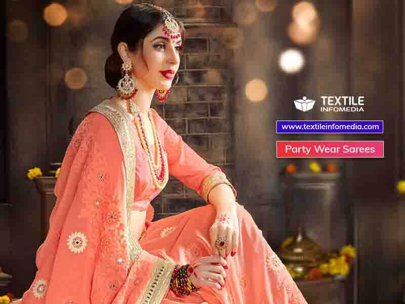 party wear sarees   surat