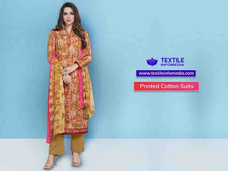 db0bde7a6f Printed Cotton Suits Manufacturers & Suppliers in Ludhiana, Punjab, India -  Ladies print cotton suits