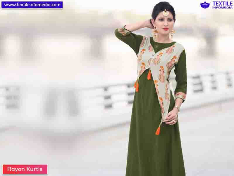 27ff69c719 Best Rayon Kurtis in wholesale price in Ahmedabad, Gujarat from wholesalers
