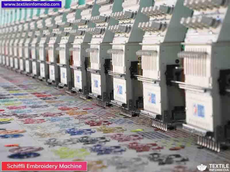 Schiffli Embroidery Machine Manufacturers Supplier