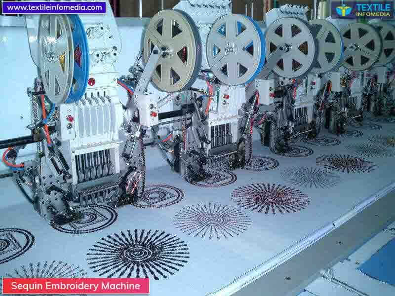 Sequin Embroidery Machine Manufacturers Supplier