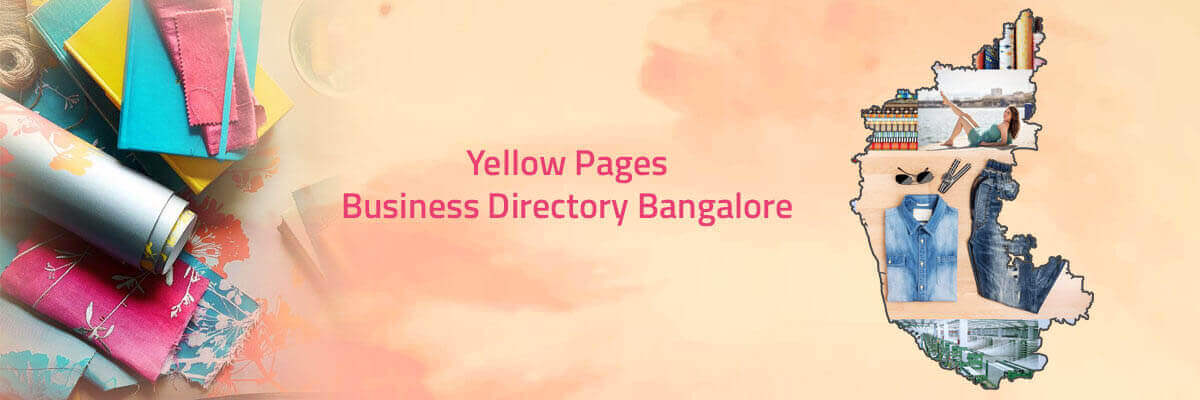 Yellow pages of Bangalore local business directory contacts