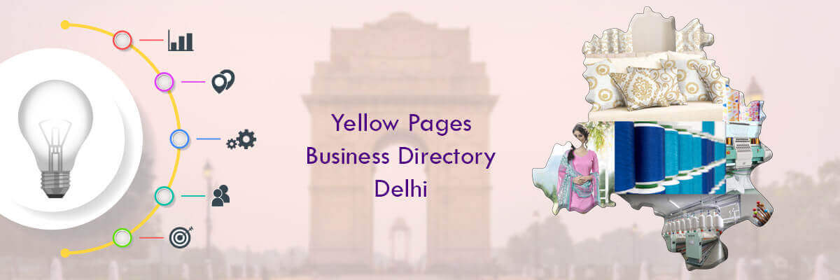 Delhi Yellow Pages - Companies Business Directory