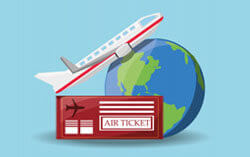 air ticket booking agent