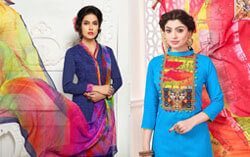 fancy suits dupatta