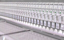 schiffli embroidery machine
