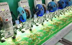 stone embroidery machine